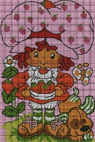 Strawberry Shortcake & Pup Crochet Pattern