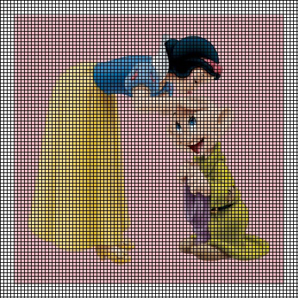 Snow White & Dopey Crochet Pattern