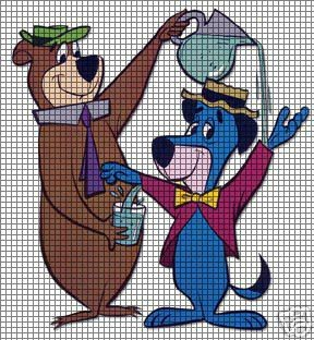 Yogi Bear & Huck Crochet Pattern