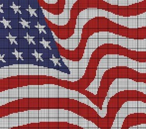 Flag Crochet Pattern