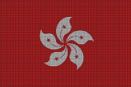 Hong Kong Flag Crochet Pattern