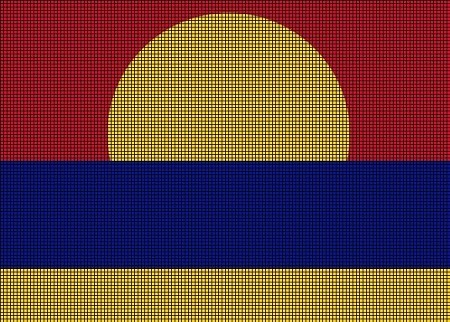 Palmyra Flag Crochet Pattern