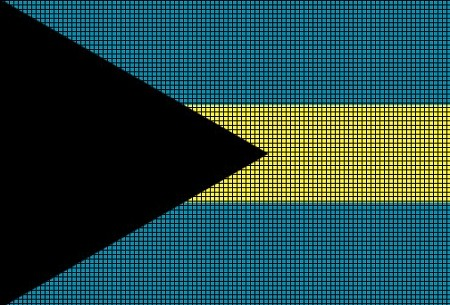The Bahamas Flag Crochet Pattern