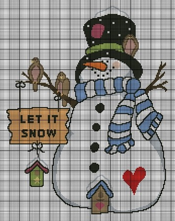 The Snowman Crochet Pattern