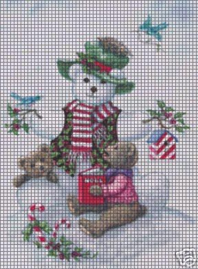 Christmas Friends Crochet Pattern