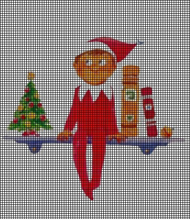 Ravelry: Elf on the Shelf pattern by Sydney Duenas | 450x390