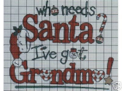 Who Needs Santa Crochet Pattern