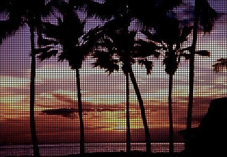 Hawaiian Sunset Crochet Pattern