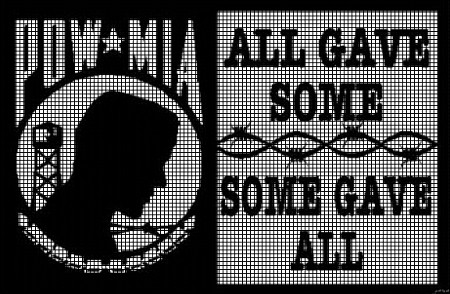 All Gave Some - Some Gave All Crochet Pattern