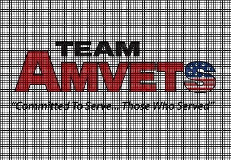 Team Amvets Crochet Pattern