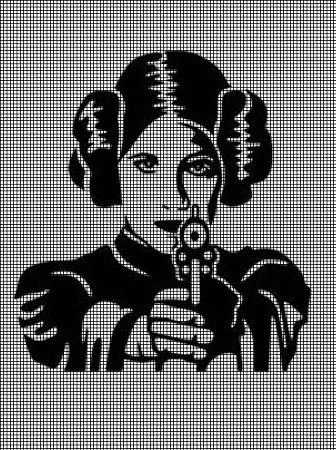 Princess Leia Crochet Pattern
