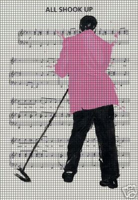 Elvis All Shook Up Crochet Pattern