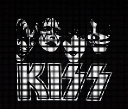 Kiss Logo Crochet Pattern