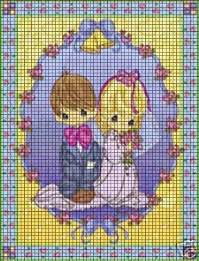 Precious Moments Bless Crochet Pattern