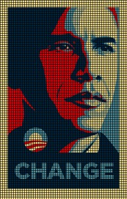 Obama Change Crochet Pattern