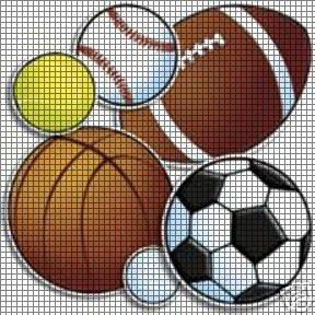 I Love Sports Crochet Pattern