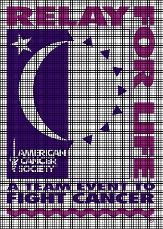Relay For Life Crochet Pattern