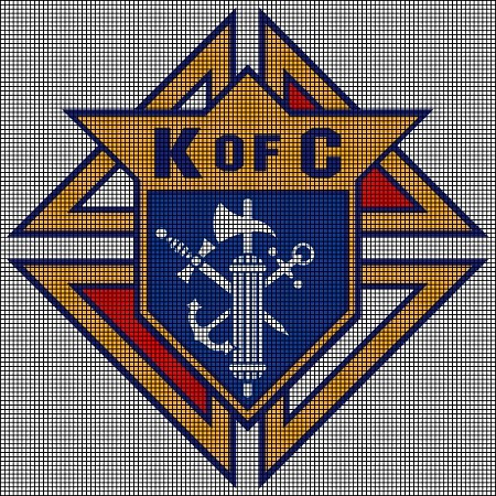 Knights of Columbus Crochet Pattern