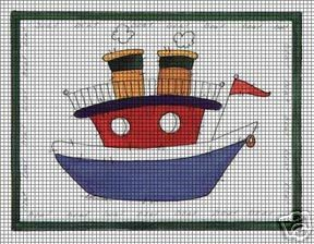 Little Toy Boat Crochet Pattern