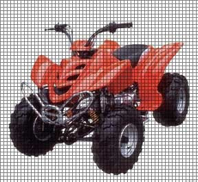 Red Four Wheeler Crochet Pattern